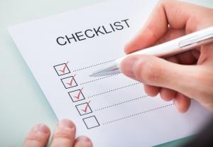 VCA checklist