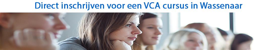 Direct inschrijven voor een VCA cursus in Wassenaar