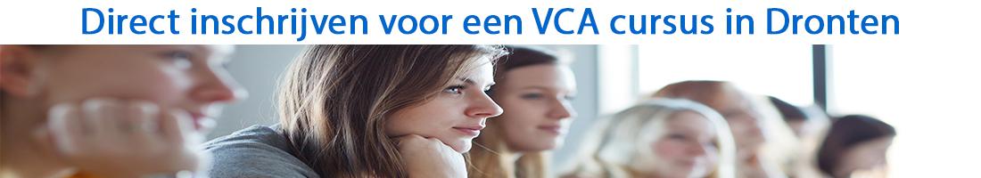 Direct inschrijven voor een VCA cursus in Dronten